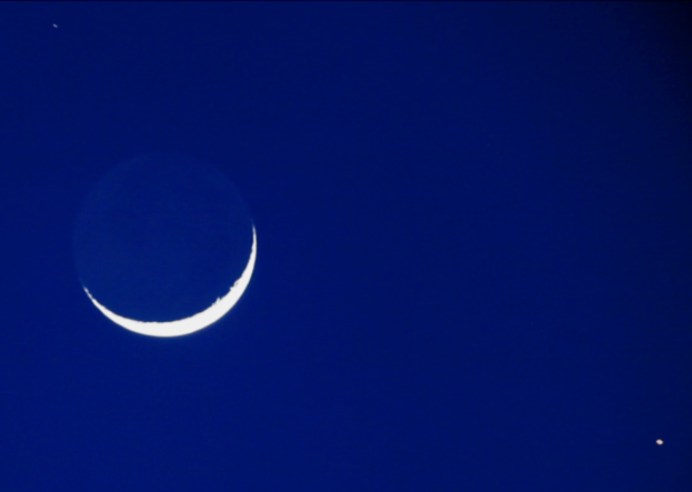 near space shuttle moon - photo #27
